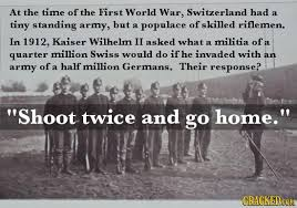 Image result for switzerland never invaded