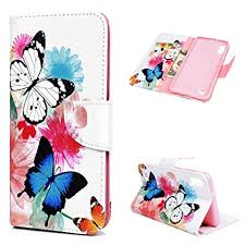 Shockproof PU Leather Flip Notebook <b>Wallet Case</b> with Magnetic ...