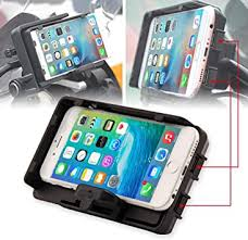 Motorcycle Phone Mount with USB Charger Mobile ... - Amazon.com