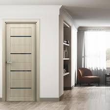 <b>Полотно дверное</b> остекленное 2000х800 мм <b>Орион</b> капучино