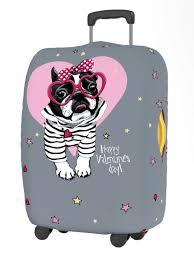 <b>Чехол для чемодана RATEL</b> Happy Valentines Day размер L Kiss ...