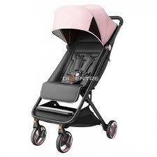 Прогулочная <b>коляска Xiaomi MITU</b> Baby Folding Stroller (розовый ...