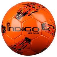 Купить Футбольный <b>мяч Indigo</b> SERGIO N006 белый/синий 4 по ...
