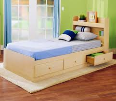 Image Of Plywood Platform Bed With Storage Ikea  I
