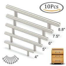 10x <b>T Bar Knob</b> Stainless Steel Kitchen <b>Cabinet Pulls</b> Cupboard ...
