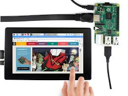 <b>Waveshare 7 inch HDMI LCD</b> (H) Capacitive Touch Screen with ...