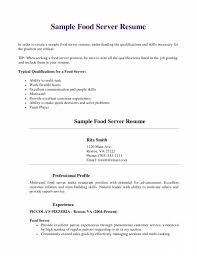 exciting objective for waitress resume brefash resume examples objective