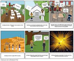 the alchemist storyboard by m ant