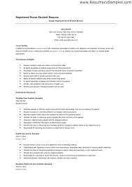 resume examples  nursing student resume examples customer service        resume examples  sample registered nurse student resume for career profile with professional strength and professional