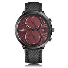 <b>GUANQIN</b> GS19014 <b>Male</b> Quartz <b>Watch</b> Date Chronograph ...