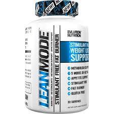 EVL EVLution <b>Lean mode Stimulant-Free Fat</b> Burner 30 servings ...
