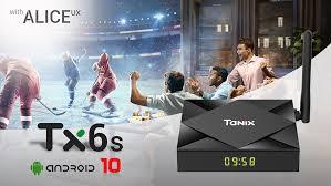 <b>Android 10.0</b> TV Box <b>Android 10</b> Allwinner H616 Tanix TX6S Max ...