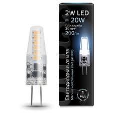 «<b>Лампа Gauss LED</b> G4 AC220-240V 2W 4100K» — Результаты ...