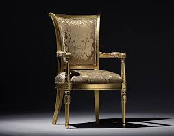 gold colored chair with floar texture modern home furniture collection alexandra alexandra furniture