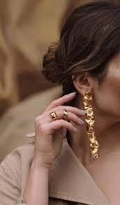 Les boucles d'oreilles Cascade de <b>Misho</b> #goldbracelet ...