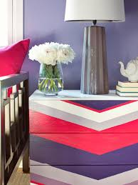 how to paint a chevron patterned dresser chevron painted furniture