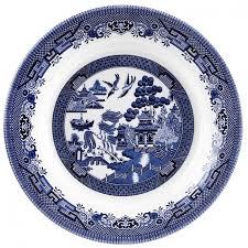 Churchill Голубая Ива <b>Блюдо 28</b>,5 См, Сервировка Москва