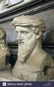 pythagorean stock photos pythagorean stock images alamy bust of greek philosopher and mathematician pythagoras 570bc 495bc of samos in the