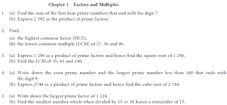 Factors and Multiples Worksheet Learn Mathematics OnlineFactors and Multiples Worksheet