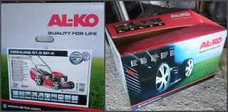 Обзор на <b>Газонокосилка бензиновая AL-KO Highline</b> 51.5 SP-A ...