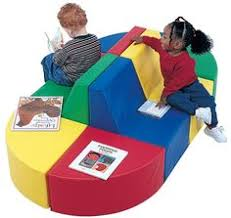 kiddie seating children library furniture