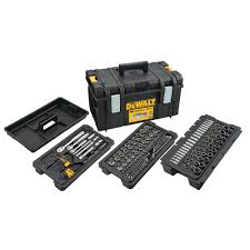 DEWALT Mechanics Tool Set (226-<b>Piece</b>) with TOUGHSYSTEM 22 ...
