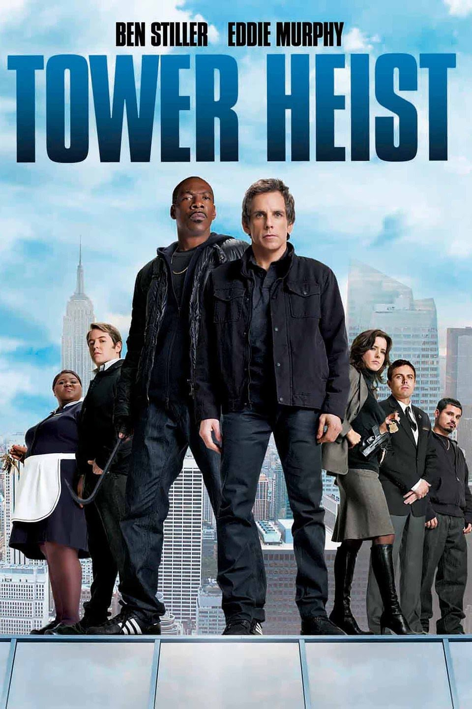 Download Tower Heist (2011) Dual Audio {Hindi-English} 480p | 720p