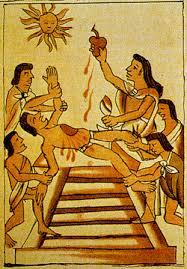 Image result for mayan pyramids human sacrifice