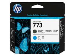 <b>HP 773</b> Matte Black/<b>Cyan DesignJet</b> Printhead, C1Q20A (C1Q20A)