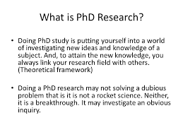 Structuring a PhD Thesis Ismail Said School of Graduate Studies     Novelty and Originality of a PhD Thesis Carrying out an empirical work that has not been