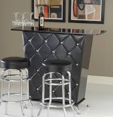metal chic mini bar design
