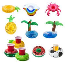 <b>3pcs</b>/<b>lot</b> Creative Toys Inflatable Rainbow Cloud Pool <b>Float Drink</b> ...