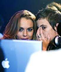 Lindsay Lohan and Samantha Ronson ringing in the New Year at Club Mansion, ... - 6444406_lohan2