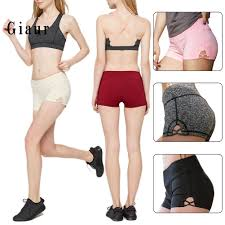 GIAUR <b>Women Elastic</b> Tight <b>Athletic Sports</b> Shorts Yoga Running ...
