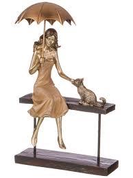 """<b>Статуэтка</b> """"<b>Девушка</b> с котёнком"""" коллекция Фьюжн <b>Lefard</b> ..."""