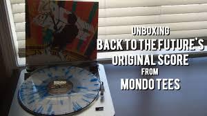 Unboxing the BACK TO THE <b>FUTURE Vinyl</b> Original Score 2xLP ...