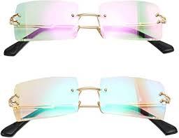 MINCL/Fashion Small Rectangle Sunglasses Women ... - Amazon.com