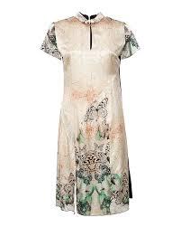 <b>ObLIQUE</b> Creations <b>платье</b>, бежевый+принт цвет. Купить по цене ...