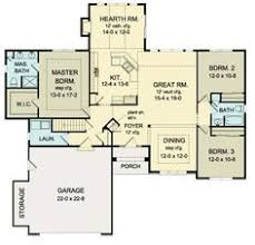 images about house plans on Pinterest   Ranch house plans    First Floor Plan of Ranch House Plan sq