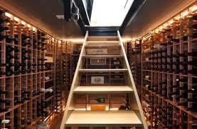 view in gallery simple and elegant way to transform your basement into a wine cellar basement wine cellar idea