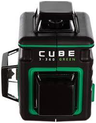 Построитель лазерных плоскостей <b>ADA CUBE</b> 3-360 GREEN ...