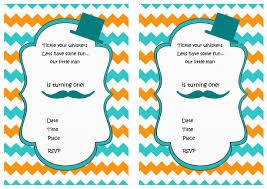 mustache birthday invitations birthday printable mustache birthday invitations