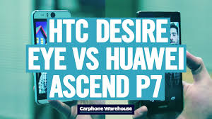 Selfie phones – HTC Desire EYE vs Huawei Ascend P7 - YouTube