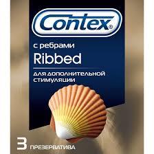 Купить <b>Презервативы Contex Ribbed ребристые</b> для усиления ...
