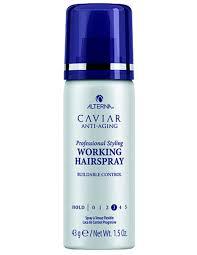 alterna caviar anti-aging working hairspray mini - <b>лак подвижной</b> ...