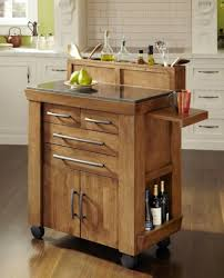 leaf kitchen island cart wooden table large
