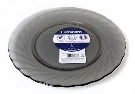 <b>Тарелка Luminarc десертная Trianon</b> Graphite, 19.6 см