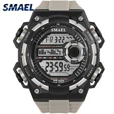 <b>Digital Wristwatches Luxury</b> Brand <b>SMAEL</b> SShock Resist Military ...