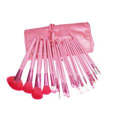 MEGAGA <b>21PCS Makeup Brushes</b> Pink Soft Fiber Professional ...
