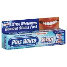 Plus White 3.5 oz. <b>Xtra Whitening</b> Toothpaste in Mint | Bed Bath ...